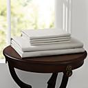 פשוט&opulence® סדין מתאים, 500 TC 100% כותנה מוצק עד לבן 15