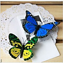 Wedding Décor 3D Double Wing Artificial Butterfly(Mixed Color)-Set of 10