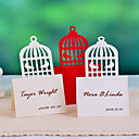 Place Cards and Holders Birdcage Design Place Card - Set Of 12(More Colors)