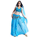 Classic Performance Chiffon Belly Dance Outfits For Ladies(More Colors)