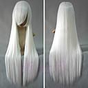 Inuyasha Inu Yasha blanca larga peluca de Cosplay