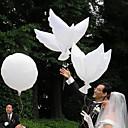 décoration de mariage paix blanche colombe ballon - un ensemble de 6