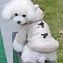Mooie British Style Horn Button warme jas met capuchon voor Huisdieren Honden (verschillende maten)