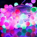 [Newyearsale] 50-led 9m vedenpitävä EU plug ulkona joulu loma sisustus rgb led string valo (220v)