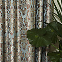 (Two Panels) Michelle Luxury® Classic Damask Energy Saving Curtain