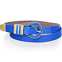 Candy Color Skinny Belt