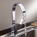 Deck Mounted Single Handle One Hole with Chrome Kitchen faucet