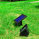 Solar Power Ultra Bright 30 LED Hage Flood Spot Light Lawn Cool Hvit Lampe (CIS-57258)