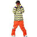 Outdoor Unisex Pants Skiing / Snowsports / Downhill / Backcountry / SnowboardingWaterproof / Breathable / Rain-Proof / Windproof /
