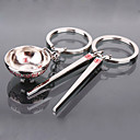 Asian Theme Matching Keychain - Bowl&Chopsticks (Set of One Pair)