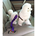 כלבים רצועות / רתמת בטיחות לכלב/ רתמה לכלב למושב רכב חוזרמתכווננת / בטיחות Red / Black / כחול / ורוד / סגול ניילון
