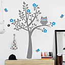 Owl Tree Accueil Decal Sticker mur