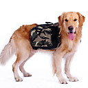 Dog Backpack Green Spring/Fall Camouflage