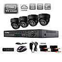 liview® 700tvl inomhus dag / natt säkerhet kameran och 4-kanals hdmi 960h nätverk DVR-system