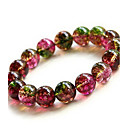 Health Caring National Graceful Naturel Crystal Hologram Bracelet(1 Pc)