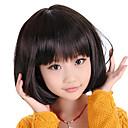 Perruque capless Bob Haircut modèle d'enfants (noir)