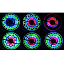 FJQXZ 36 LED Bicycle Wheel Spoke Dekor Fargerike LED Light