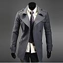 Men's Double Breasted Slim Coat