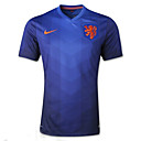 2014 World Cup World Cup Jerseys Netherlands Visiting Game Blue