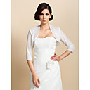 Wedding / Party/Evening Chiffon Coats/Jackets 3/4-Length Sleeve Wedding  Wraps