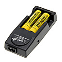 NITECORE NL189 3400mAh 18650 Batetry (2 pcs) + TrustFire TR-001 Battery Charger for 16850/16340/14500 (for 2 Batteries)