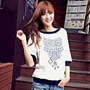 Fritid C  Normal - Solid - Halvlange ermer - TS® T-skjorte (