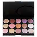 Professional 15 Color Shimmer Metal Warm Eyeshadow Makeup Palette