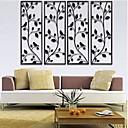 arte della parete muro di metallo decorazione di bellezza in naturalezza della parete della decorazione set di 2