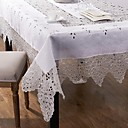 1 Mélange Lin/Coton Carré Nappes de table
