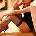 Women's Sexy  Lace Slip Small Mesh Stockings