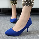 Women's Shoes Pointed Toe Stiletto Heel Velvet Pumps Shoes More Colors available