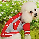T-Shirt for Dogs Red / Black / Blue / Pink / Yellow Winter XS / S / M / L / XL Cotton