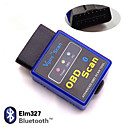 Mini ELM327 V1.5 Bluetooth ELM 327 OBDII OBD2 protocolli Attrezzo diagnostico auto