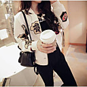 Women's Print Varsity Baseball Jacket