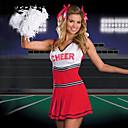 Red Hot Girl Terylene Cheerleader Uniform