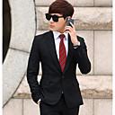 moda traje delgado conjunto de los hombres (chaqueta y pantalón)