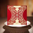 50分の20の対称的な半円形のデザイン結婚式の招待状セット