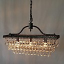 Crystal Chandeliers , Traditional/Classic Dining Room/Bedroom/Study Room/Office/Hallway Metal