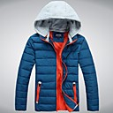 Men' Fashional Insulation Thick  Cotton Padded  Jacket with Hat