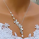 Women's European And American  Fashion  Pearl  Simple  Necklace