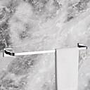 barra de toalha, acabamento cromado moderno latão maciço slat de 24 polegadas, acessório do banheiro