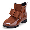 Girl's Shoes Combat Boots Flat Heel Faux Leather Boots Shoes More Colors available