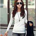kvinnors mycket heta borrning stor storlek t-shirt
