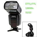 TRIOPO TR-982II N i-TTL Master/Slave High Speed Sync 1/8000s Flash Speedlite for Nikon DSLR Camera