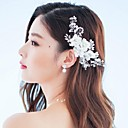 Handmade Floral Wedding/Party Headpieces/Flowers with Crystals