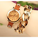 Women's 2015 The Latest Fashion Leather Chained Japanese Quartz Watch(Assorted Colors)