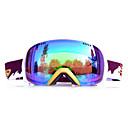 basto gouden frame groen sensor skiën sneeuwbril