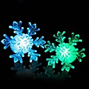 Colorful Color-changing Snowflake Shape LED Night Light