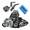Headlamps / Bike Lights LED 4 Mode 5000/4000/5800 Lumens Waterproof / Rechargeable / Impact Resistant Cree XM-L T6 18650