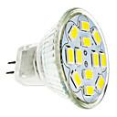 6W GU4(MR11) LED Spotlight 12 SMD 5730 570 lm Warm White / Cool White DC 12 V